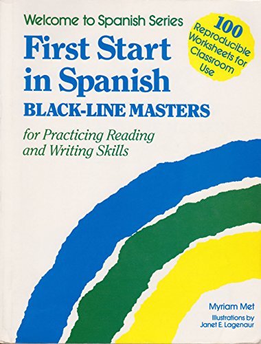 9780844275369: First Start in Spanish, Black Line Masters