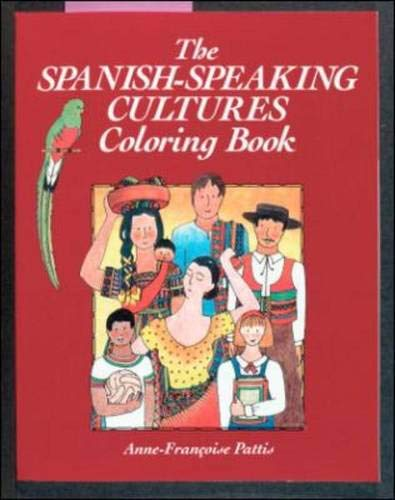 9780844275383: Coloring Books: The Spanish Speaking Cultures, Coloring Book