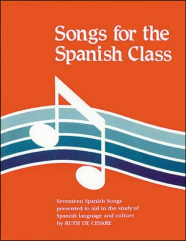 9780844276113: Songs for the Spanish Class