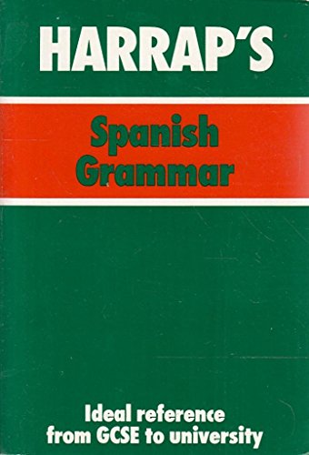 9780844277325: Harrap's Spanish Grammar