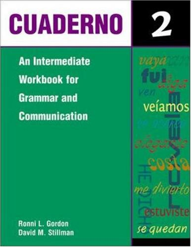 9780844279268: Cuaderno Level 2: An Intermediate Workbook for Grammar and Communication