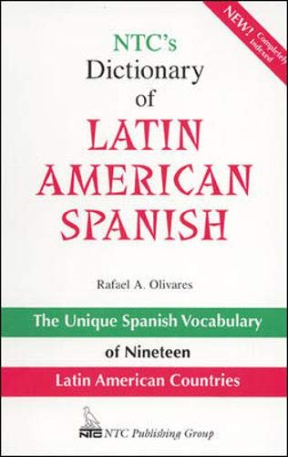 NTC's Dictionary of Latin American Spanish: Olivares, Rafael A.