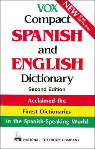9780844279862: Vox Compact Spanish and English Dictionary: English-Spanish/Spanish-English (Vox Dictionary Series)