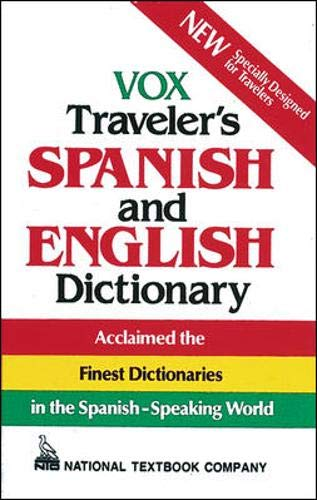 9780844279879: Vox Traveler's Spanish and English Dictionary (Vinyl cover) (VOX Dictionary Series)