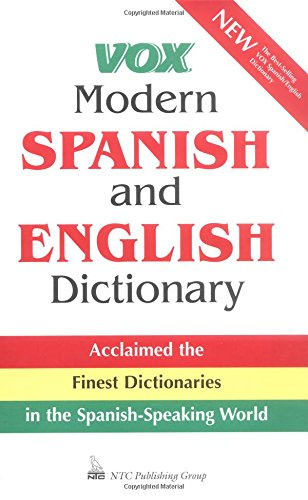 9780844279909: Vox Modern Spanish and English Dictionary