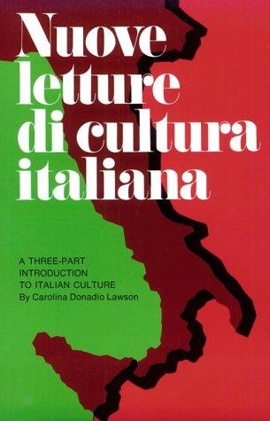 9780844280004: Nuove Letture Di Cultura Italiana: Advanced Beginning Through Upper Intermediate