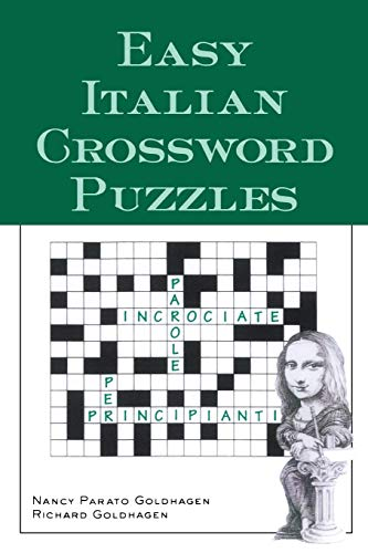 9780844280530: Easy Italian Crossword Puzzles (Language - Italian) (English and Italian Edition)