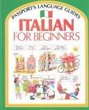 9780844280592: Italian for Beginners (Passport's Language Guides)