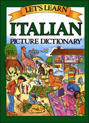 9780844280653: LETS LEARN: ITALIAN PICTURE DICTIONARY