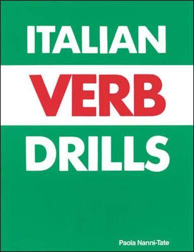 9780844280691: Italian Verb Drills
