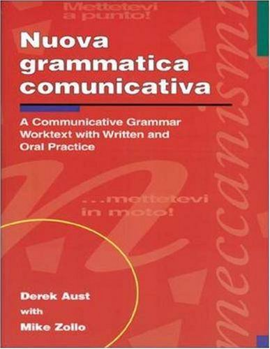 9780844280899: Nuova grammatica comunicativa: A Communicative Grammar Worktext with Written and Oral Practice
