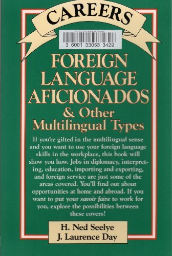 9780844281292: Careers for Foreign Language Aficionados and Other Multilingual Types (McGraw-Hill Careers for You)