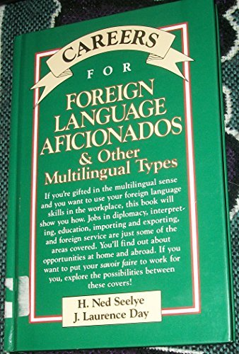 9780844281308: Careers for Foreign Language Aficionados and Other Multilingual Types (VGM Careers for You)