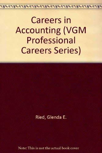 9780844281407: Careers in Accounting (Vgm Professional Careers)
