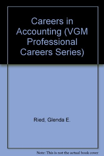 9780844281414: Careers in Accounting (Vgm Professional Careers Series)