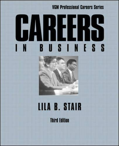 9780844281445: Careers in Business (VGM Professional Careers)