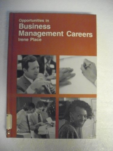 9780844281582: Opportunities in Business Management Careers (Opportunities in ... (Hardcover))