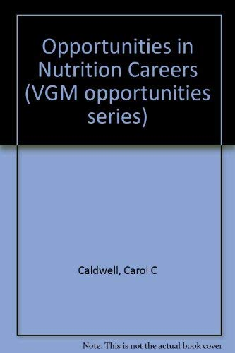 9780844281872: Opportunities in Nutrition Careers