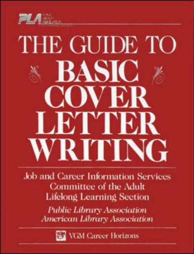 9780844281964: Guide to Basic Cover Letter Writing