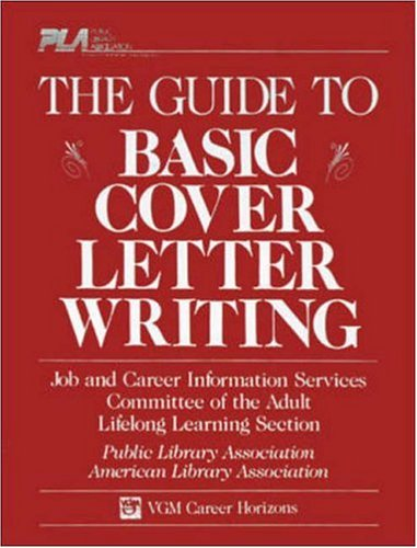 9780844281964: The Guide to Basic Cover Letter Writing