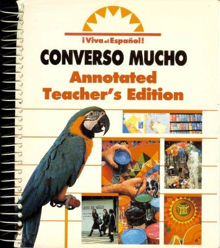 Viva el Espanol: Converso Mucho, Annotated Teacher's