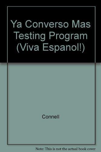 9780844283142: Ya Converso Mas Testing Program (Viva Espanol!)