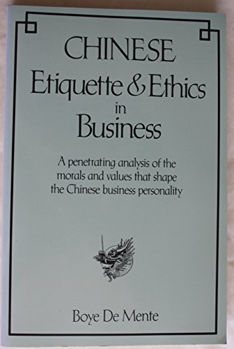 9780844285252: Chinese Etiquette and Ethics in Business