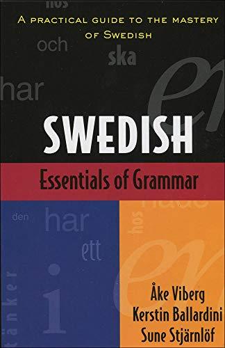 9780844285399: Essentials of Swedish Grammar