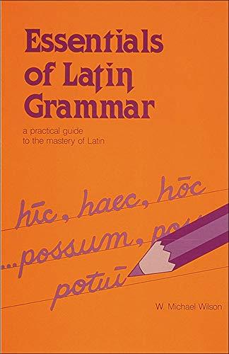 9780844285405: Essentials of Latin Grammar