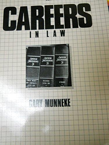 9780844285559: Careers in Law (Vgm Professional Careers Series)
