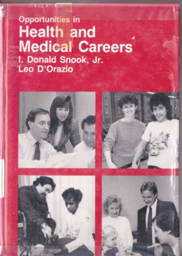 9780844285733: Opportunities in Health and Medical Careers (Vgm Opportunities Series)