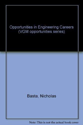 9780844285849: Opportunities in Engineering Careers (Vgm Opportunities Series)