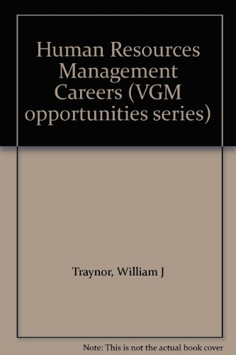 9780844286396: Human Resources Management Careers (VGM opportunities series)