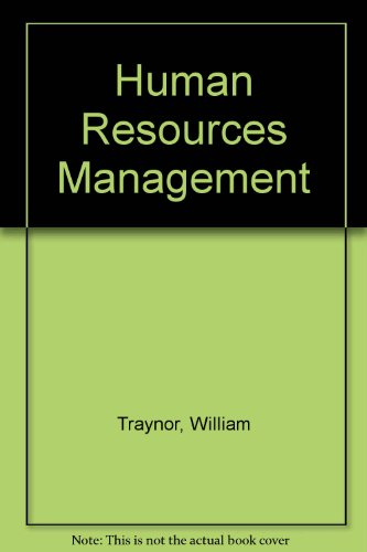 9780844286402: Human Resources Management (Opportunities in ...)