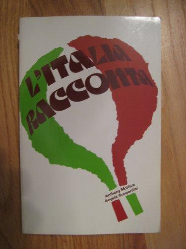 9780844287140: L'Italia Racconta Intermediate Through Advanced (Language - Italian)