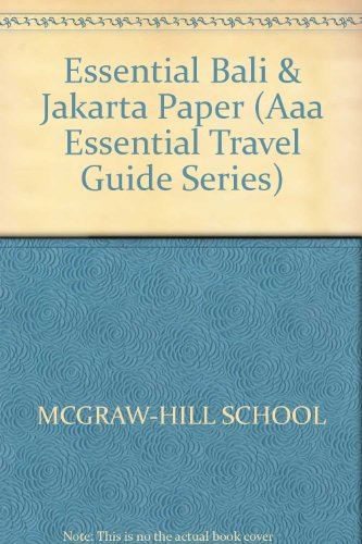 9780844289526: Essential Bali and Jakarta (Aaa Essential Travel Guide Series)