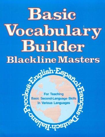 9780844290171: Basic Vocabulary Builder: Blackline Masters (Language - Professional Resources)