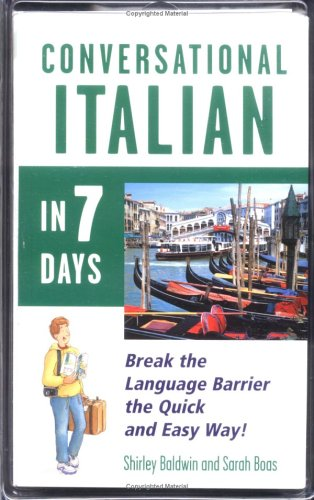 9780844291352: Conversational Italian in 7 Days