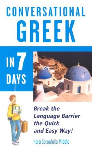 9780844291406: Conversational  Greek in 7 Days