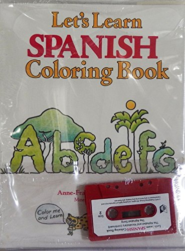 9780844291727: Let's Learn Spanish Coloring Book (Book and Cassette) (Spanish and English Edition)