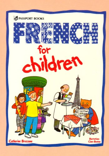 9780844291758: FRENCH FOR CHILDREN  BOOK