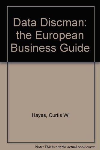 9780844292922: Data Discman: the European Business Guide