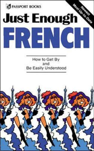 9780844295015: Just Enough French [Idioma Inglés]