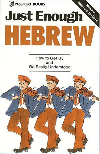 9780844295176: Just Enough Hebrew (Just Enough Phrasebook Series)