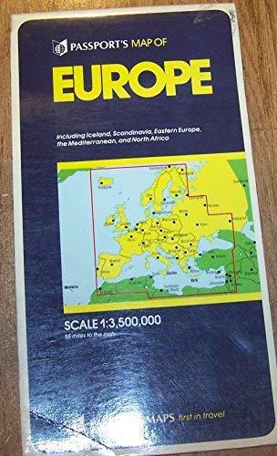 9780844295909: Passport's Map of Europe