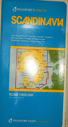 Passports Map of Scandinavia (0844295973) by Passport Books