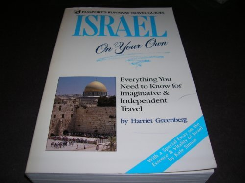 9780844296418: Israel on your own (Passport's runaway travel guides)