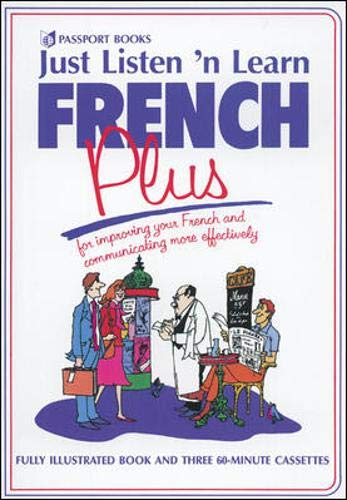 9780844296661: Just Listen 'N Learn French Plus
