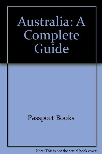 98875 Australia, Send New Ed (Odyssey Australia): Passport Books