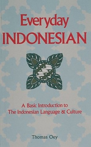 9780844299136: Everyday Indonesian: A Basic Introduction to the Indonesian Language & Culture